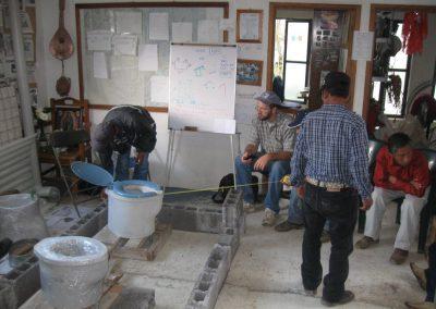 Mejoramiento del diseño de baños secos