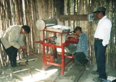 Instalación del molino
