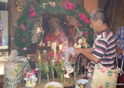 Ceremonia de agradecimiento por la cosecha de elotes
