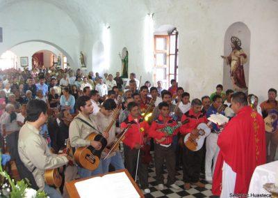 Misa para los músicos Santa Cecilia en Xilitla S.L.P.