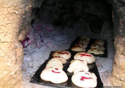 Pan Tradicional para las Ofrendas en las Fiestas de Xantolo