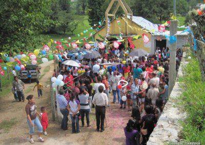 Peregrinación de la Virgen de Guadalupe en Sierra Mojada Xilitla S.L.P.