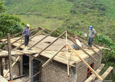 Tapanco y techo naturales
