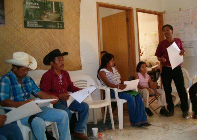 Taller de Campesino a Campesino entre promotores