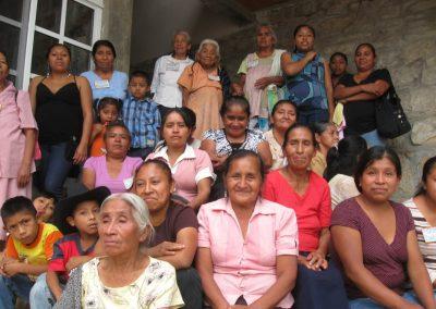 """Mujeres fundadoras del comedor """"La flor del Cafe"""""""