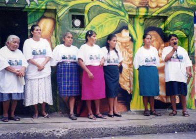 Mujeres con comedor consolidado
