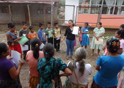 Dinámica grupal: conociendo mis derechos