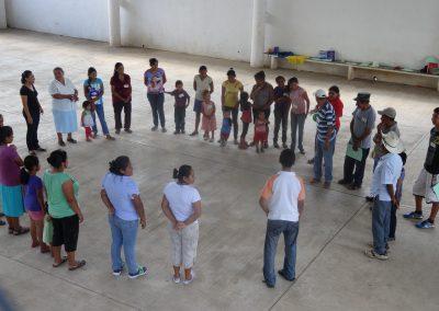 Dinámica de presentación para iniciar el taller de capacitación