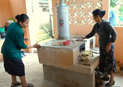 instalacion boiler en estufa ecológica