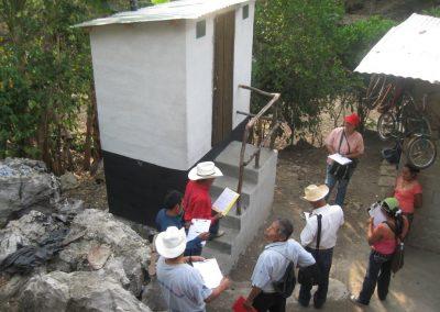 Seguimiento y monitoreo de los baños secos