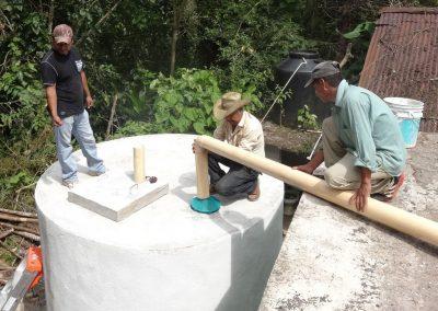 Colocación del filtro de agua